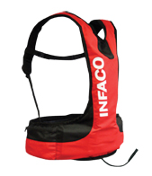 Infaco Battery Vest for electrocoup